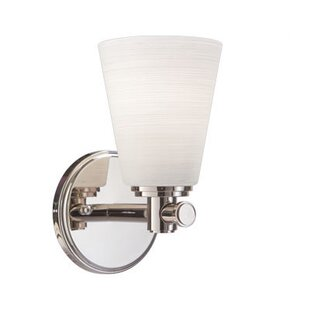 Red Barrel Studio Hesser 1-Light Bath Sconce