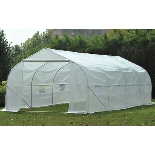 Outsunny 9.41 Ft. W x 19.5 Ft. D Greenhouse