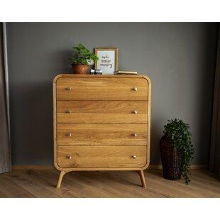 Bracamonte 4 Drawer Dresser by Corrigan Studio