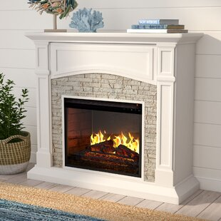 Cameron Electric Fireplace by Alcott Hill