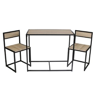Crimmins Dining Set With 2 Chairs By Williston Forge