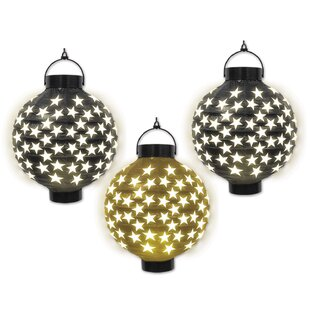 The Holiday Aisle New Years Light-Up Paper Novelty String Light (Set of 3)