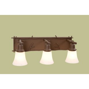 Steel Partners Sticks Glacier 3-Light Vanity Light