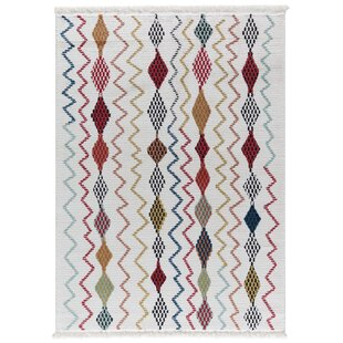 Affordable Rubie White Area Rug By Bungalow Rose