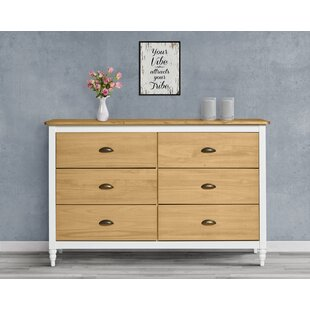 Lolas 6 Drawer Chest By August Grove