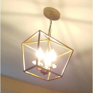 Charlton Home Rancourt 3-Light Foyer Pendant