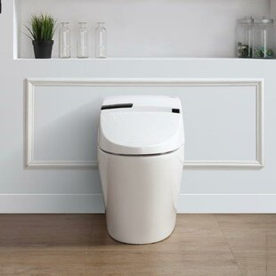 Ove Decors Alfred 1.6 GPF Round Toilet Bowl with Touchless Flush