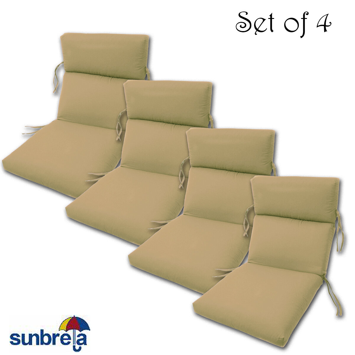 Indoor Outdoor Sunbrella Chair Cushion