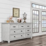 Madison 6 Drawer Dresser by Evolur