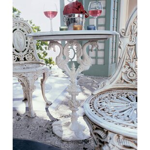 Regents Park Dragon Bistro Set Marble Bistro Table by Design Toscano