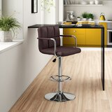 Gianni Swivel Adjustable Height Bar Stool by Zipcode Design™