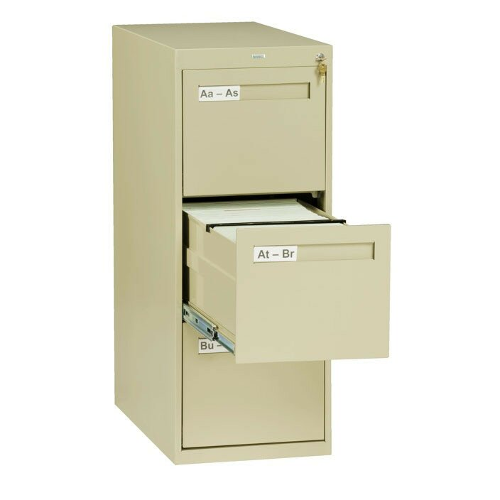 3 Drawer Vertical Legal Size File Cabinet