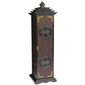 Oriental Furniture Pagoda Multimedia Cabinet Image