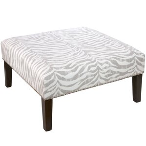 Deeanna Nail Button Cocktail Ottoman by Will..