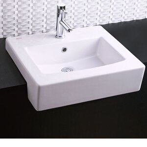 Self Rimming Bathroom Sink 8