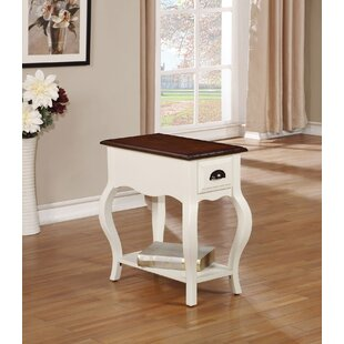 Gwin End Table with Storage by Alcott Hill