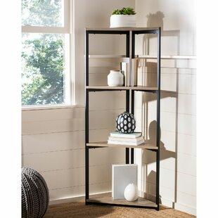 Blonde Corner Bookcase By Wrought Studio