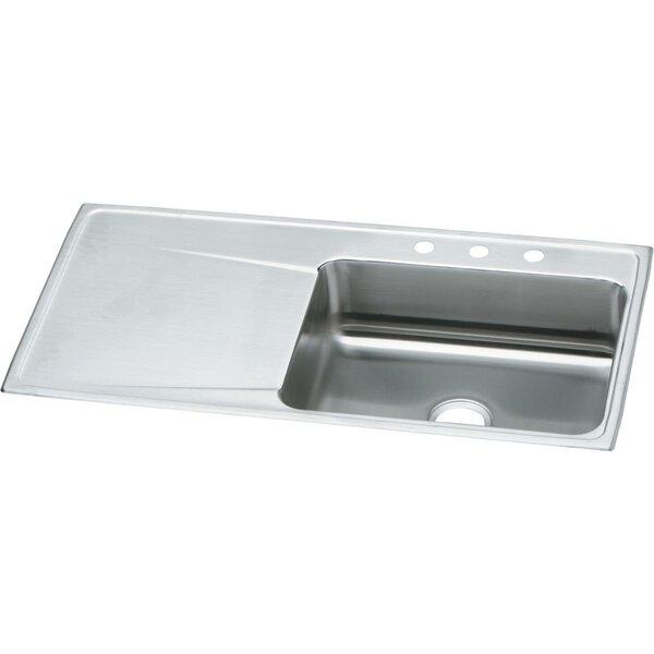 Kitchen Sink With Drain Board Wayfair