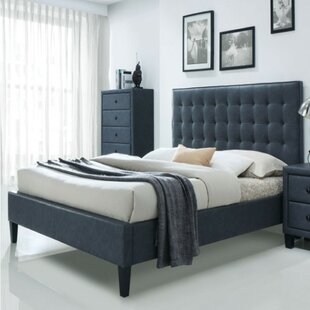 Andrae Stylish Queen Upholstered Platform Bed by Red Barrel Studio