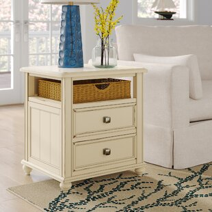 Tyrrell End Table With Storage ByBreakwater Bay