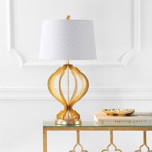 Savings Herrin Metal Trellis 29 Table Lamp By Mercer41