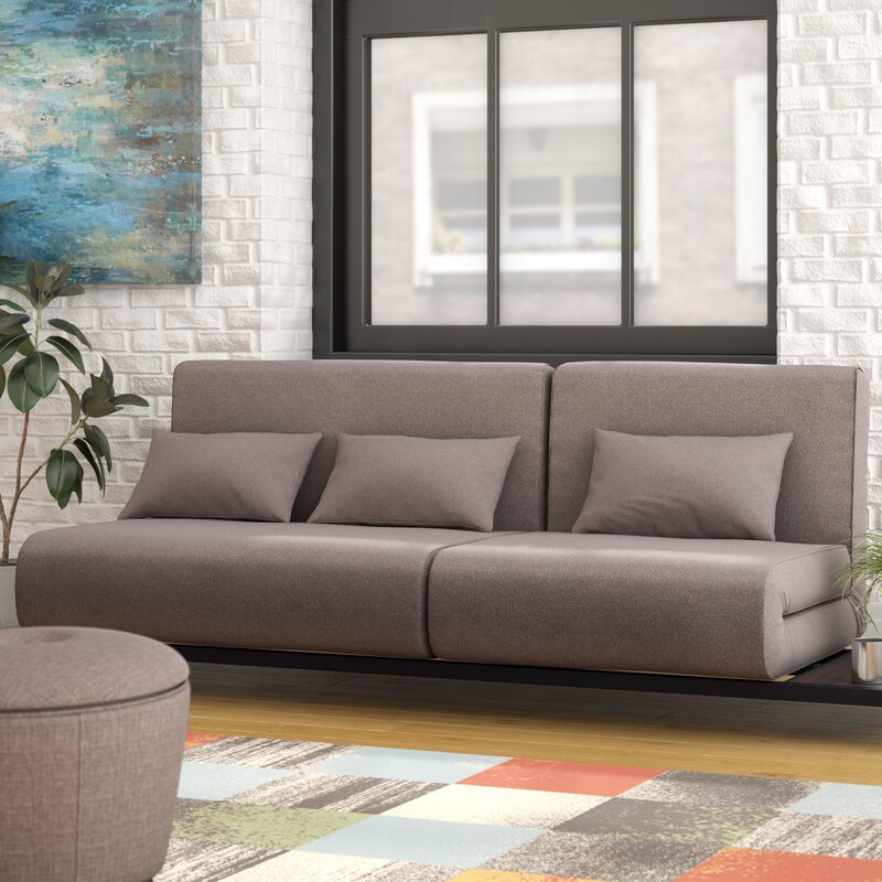 Brayden Studio Demelo Convertible Sofa & Reviews | Wayfair
