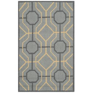 Naya Gray/Gold Indoor/Outdoor Area Rug