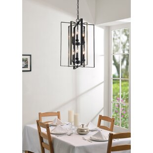 Baldwin 6-Light Lantern Chandelier by Wro..