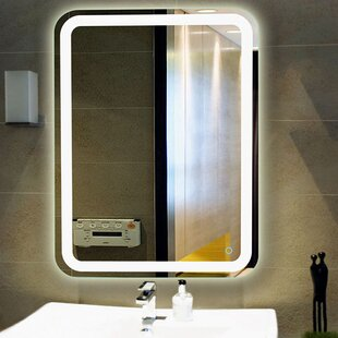 Shopping for LED Lighted Vanity Wall Mirror By Fab Glass and Mirror