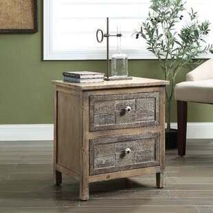 Comparison Barth End Table with Storage by August Grove