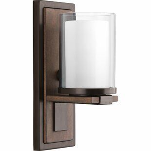 Top Reviews Waddells 1-Light Armed Sconce By Alcott Hill