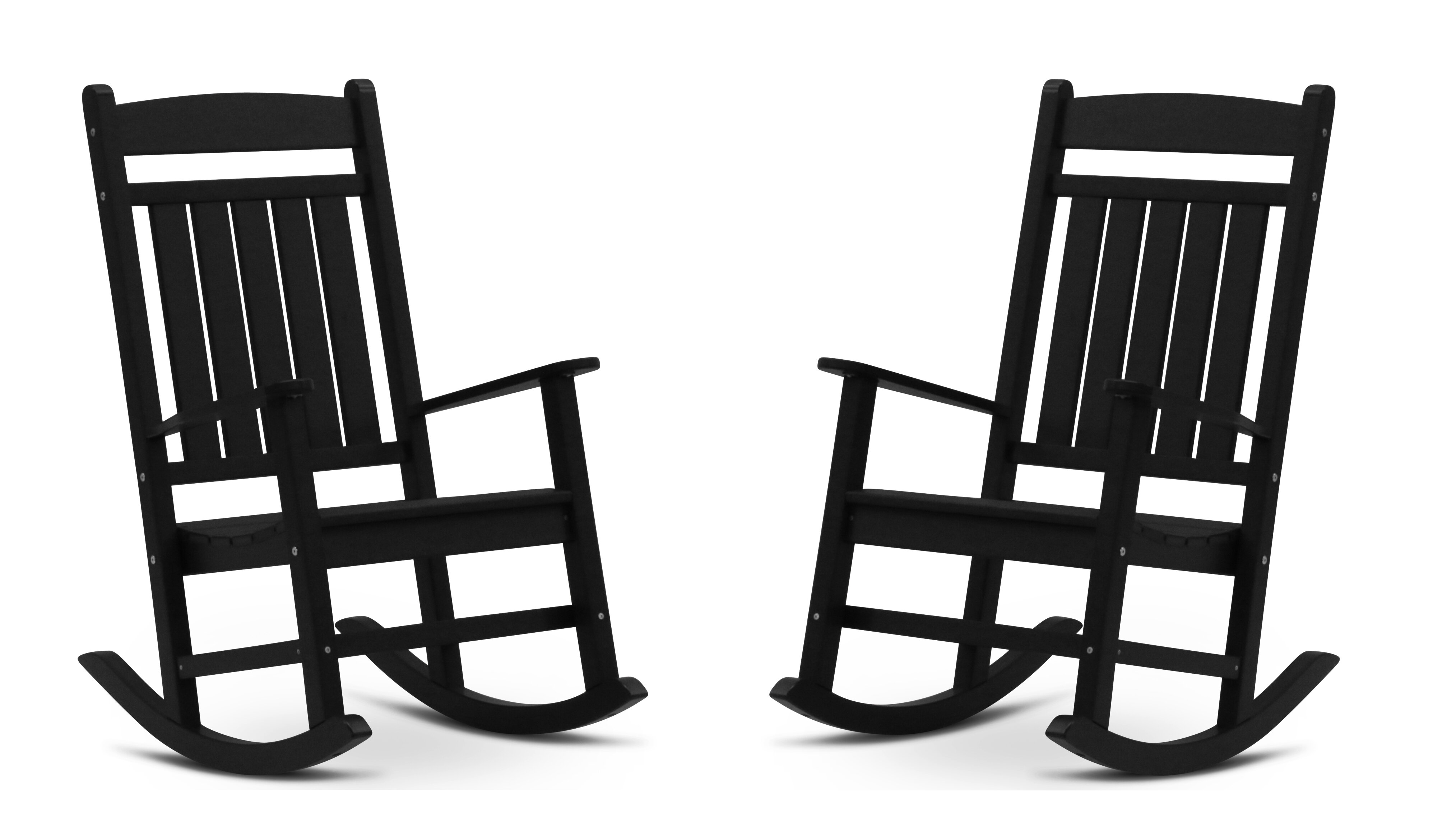 Picture of: Black Patio Rocking Chairs Gliders You Ll Love In 2020 Wayfair