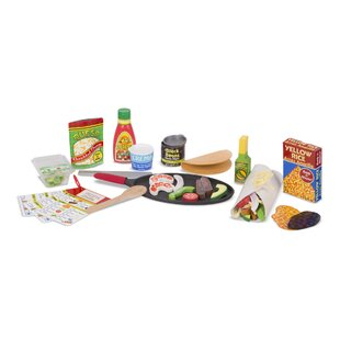 43 Piece Fill and Fold Taco and Tortilla Play Food Set by Melissa & Doug