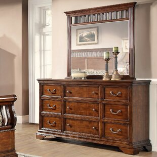 Waverly Place 9 Drawer Dresser with Mirror by Fairfax Home Collections