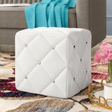 Michels Modern and Contemporary Cube Ottoman by House of Hampton®