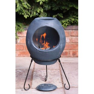 Ellipse Mex Effect Chiminea By Gardeco