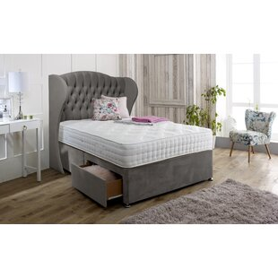 Dianna Upholstered Divan Bed And Headboard By Marlow Home Co.