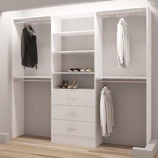 Demure Design 87 W Closet System