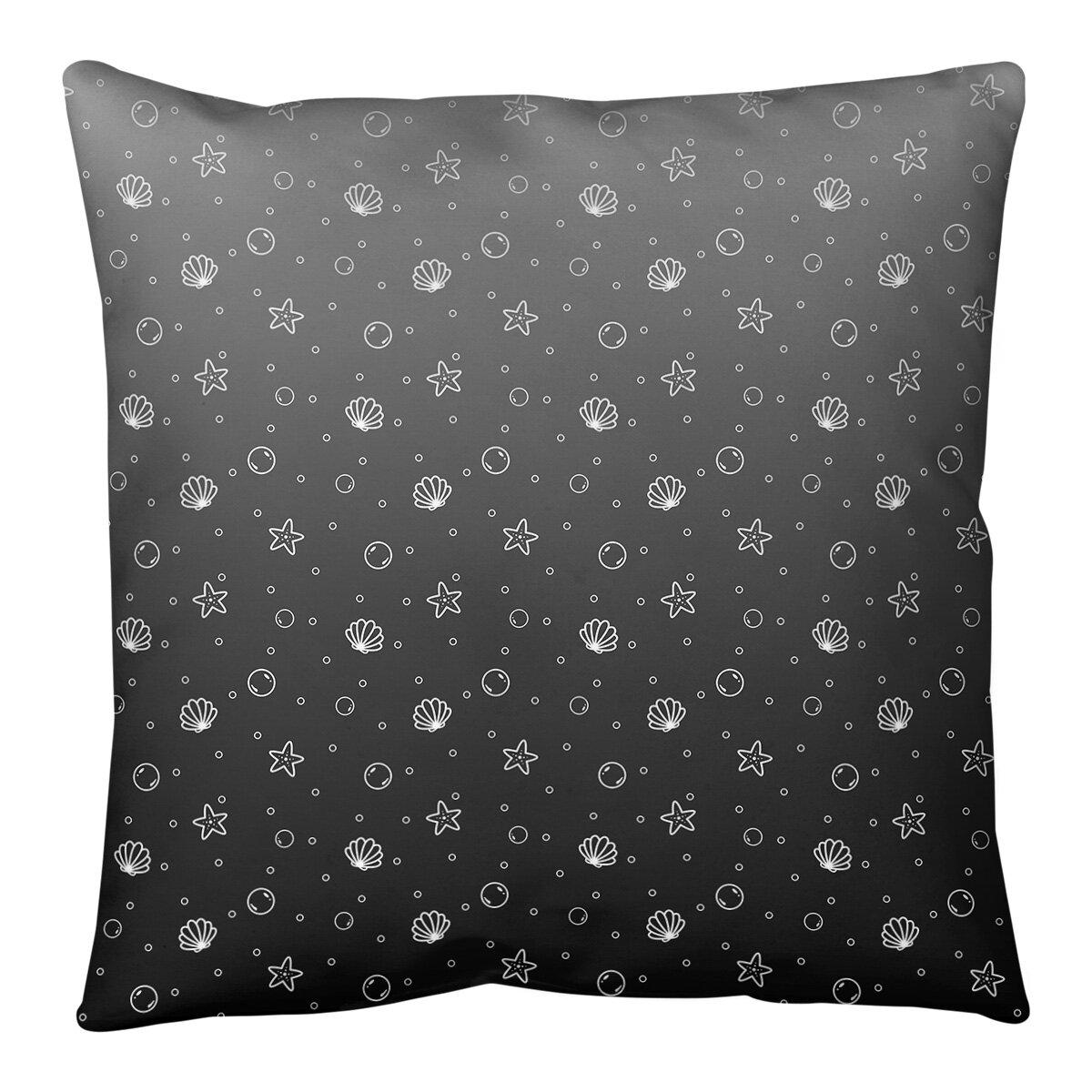 Ebern Designs Leffel Seashell Floor Pillow Wayfair