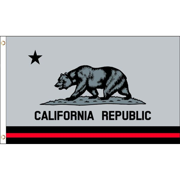 Neoplex California Republic Polyester 36 X 60 In House Flag Wayfair