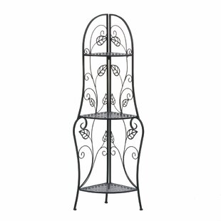 Vines Iron Baker's Rack by Zingz & T..
