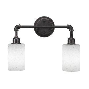 Orren Ellis Snider Vintage 2-Light Vanity Light