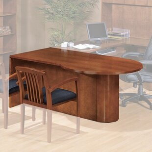 Lemasters P-Top Desk Shell by Darby Home Co