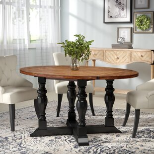 Wappinger Round Extendable Dining Table