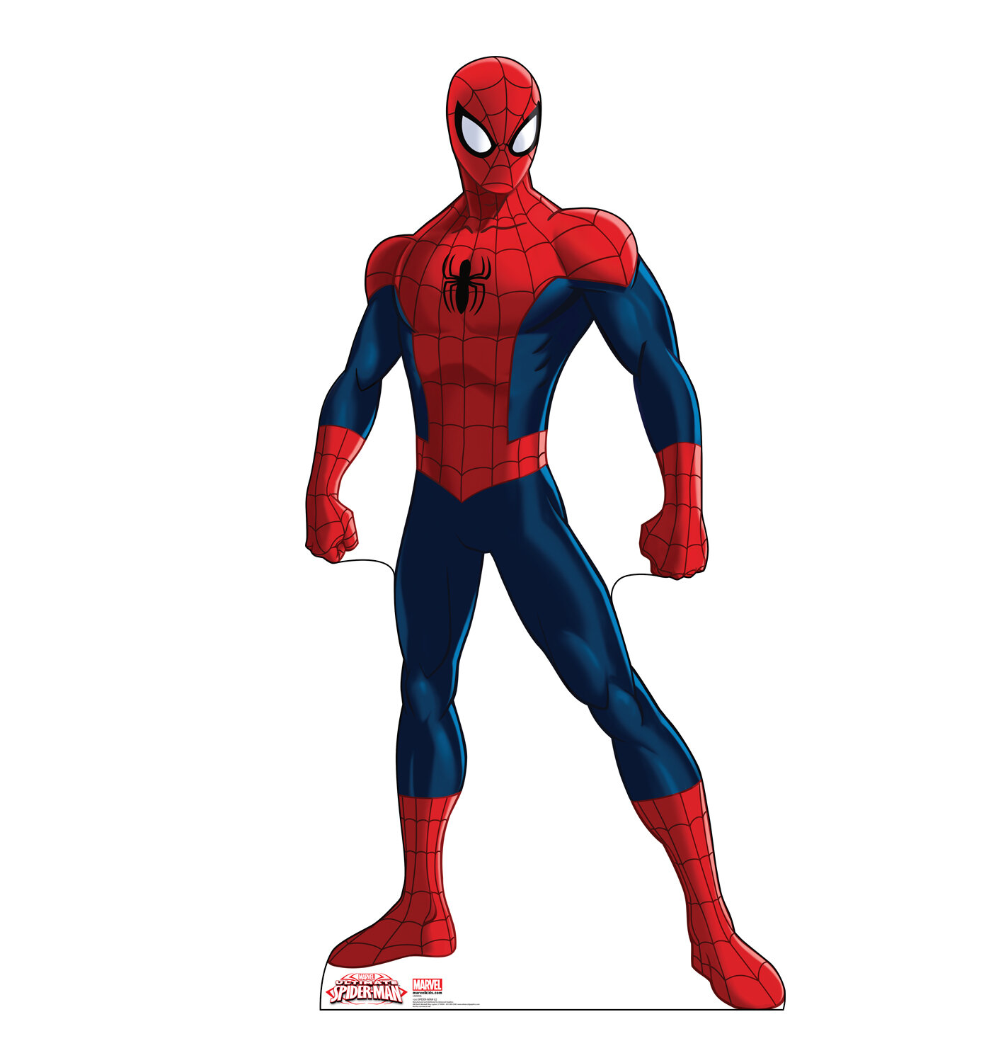Advanced Graphics Spider-Man - Ultimate Spider-Man Cardboard Standup ...