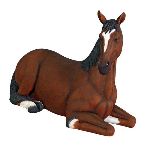 Design Toscano Resting Life Size Quarter Horse Filly Statue Wayfair