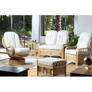 Tara 6 Piece Conservatory Sofa Set By Beachcrest Home