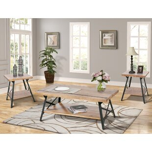 17 Stories Dade 3 Piece Coffee Table Set