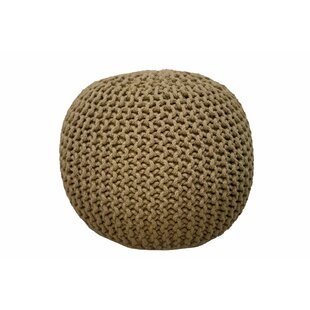 Garst Knitted Pouf by Highland Dunes
