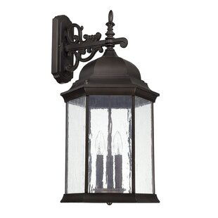 Hearne 3-Light Outdoor Wall Lantern